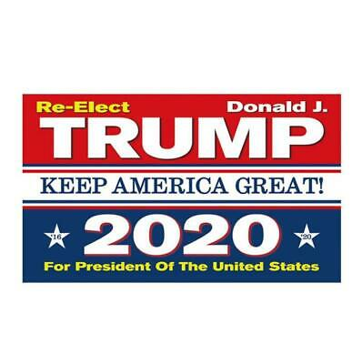 3x5 Ft Trump 2020 Keep America Great President Donald MAGA Flag US Blue & Red 2