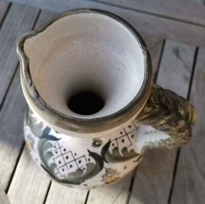 Apotheker - alte, wunderschöne, handbemalte Keramik - Kanne - Schick!!! 9