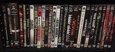WWF, WWE LOT DVD, Blu-ray Collection 200+ Box Sets, PPVs WCW, TNA, UFC,  Rare!