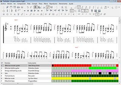 123 Songs NIRVANA Guitar Tab Lesson CD Software