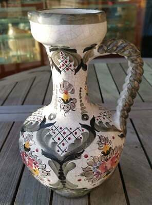 Apotheker - alte, wunderschöne, handbemalte Keramik - Kanne - Schick!!! 4
