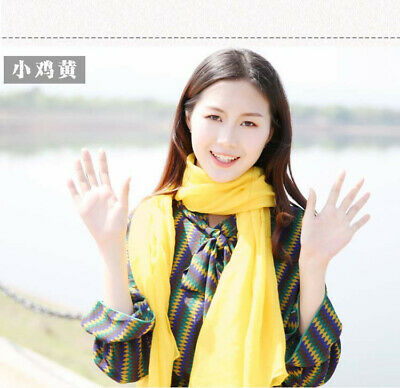 US Seller- 12 Discount Scarf scarves plain casual light weight shawls wholesale 10