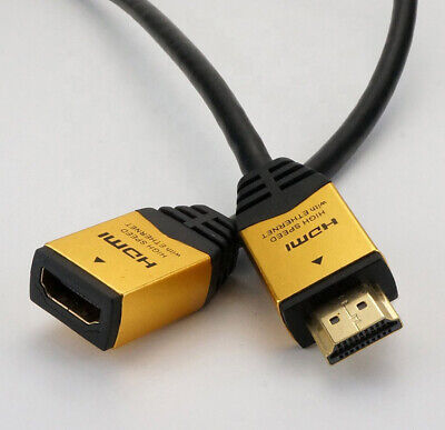 Rallonge Cable hdmi male female 2.0 4K 60Hz ultra HD 3D Full HD HDTV splitter 10
