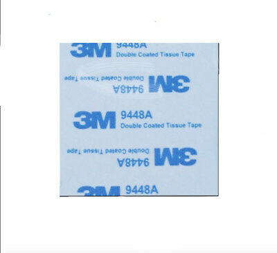 3M™ 9448A Double Sided Circle EVA Foam Black & White Pad Self Adhesive Round HQ 4