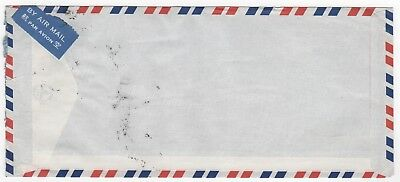 1988 HONG KONG QEII Air Mail Cover to PASSAU GERMANY Asia Trading Co. 2