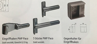 Bordwandverschluss Einbauverschluss Spannverschluss Stahl verzinkt L630484