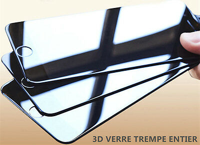 Pour iPhone 8/7/6S/6/PLUS XR X XS MAX VITRE VERRE TREMPE 3D Film Protection Full 6