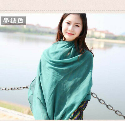 US Seller- 12 Discount Scarf scarves plain casual light weight shawls wholesale 2