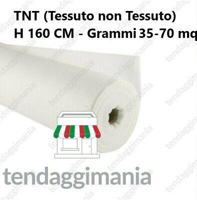TELO TNT TESSUTO NON TESSUTO BIANCO VENDITA AL METRO GRAMMI 70 e 35 - H 160 CM 2