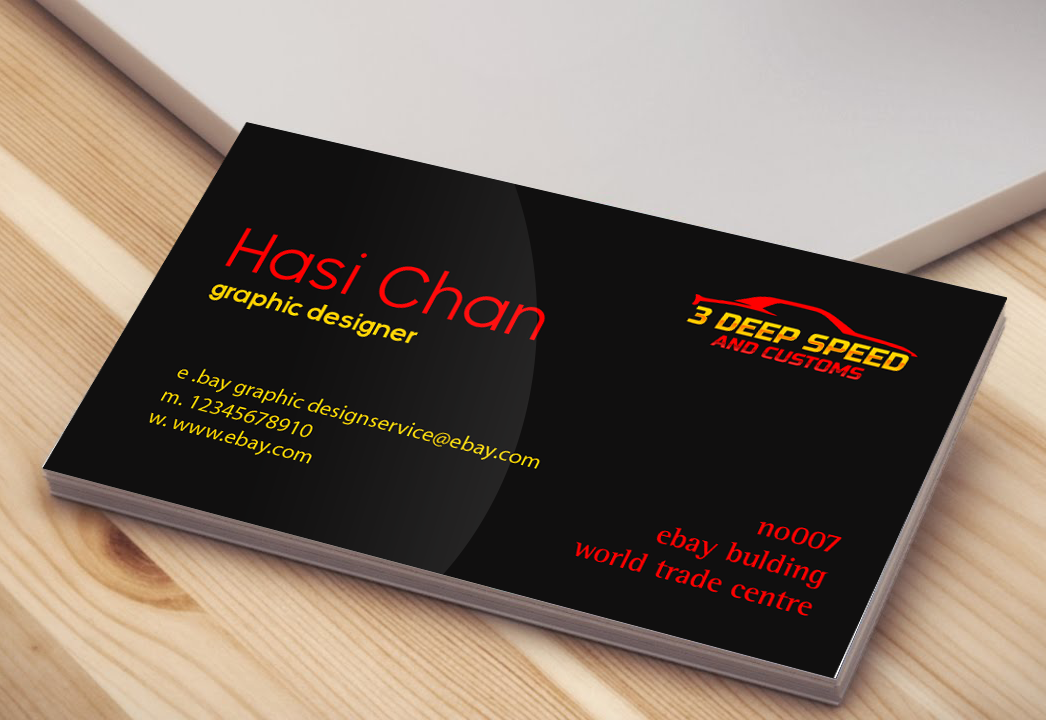 PRINT READY Professional Business Card Design 2