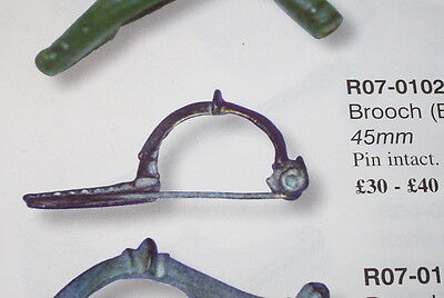 SUPERB Ancient ROMAN SILVER BOW BROOCH old jewelry artifact old antique fibula 3