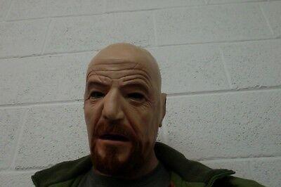 Negan Mask Latex Full Head Zombie Dead Realistic Comic Con Costume Halloween