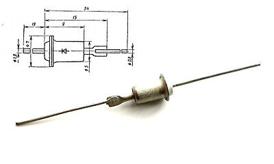 Zener Diodes 5.6V // 0.34W 10 pieces КС156А KD8 Case KS156A