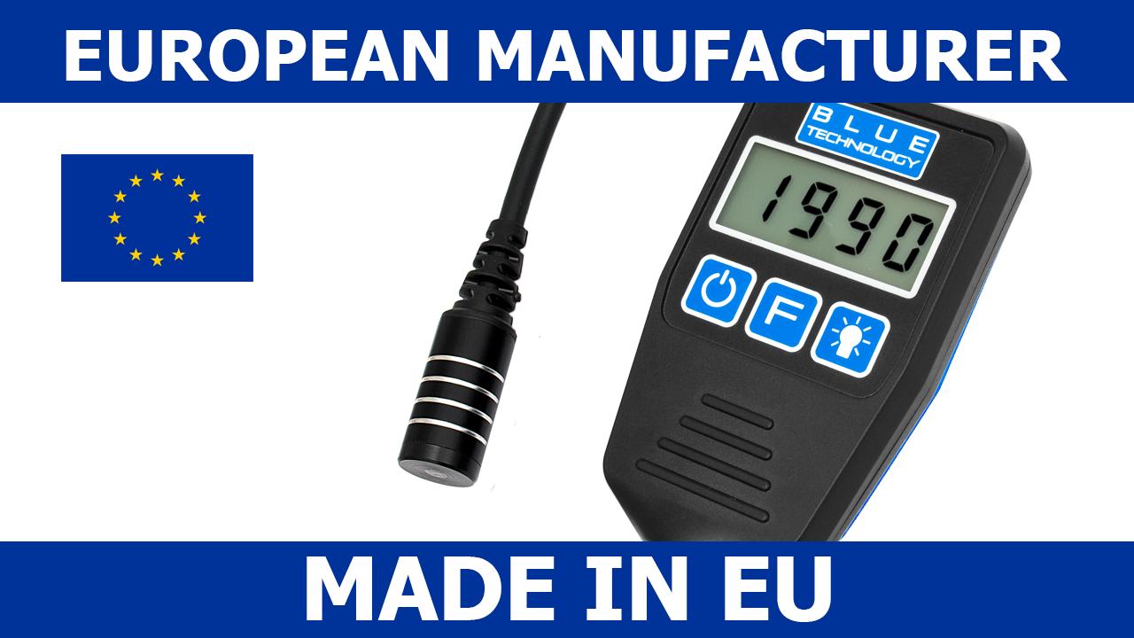 Schichtdickenmessgerät Lackdickenmessgerät Lacksensor DX-13-S-FE Stah Made in EU