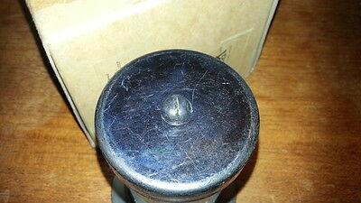 Heavy Brass Cylinder Light Lamp Industrial Warehouse Garage Steampunk NOS 4