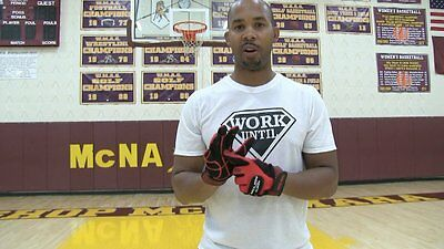 ball hog gloves. 2 of 3 ball hog gloves x-factor basketball handling dribbling dribble training aid gear
