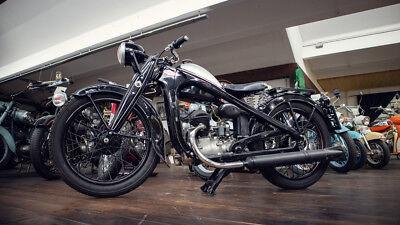 Puch 200 Oldtimer Motorrad 1939 Original Österreichischer Kraftfahrzeugbrief 2