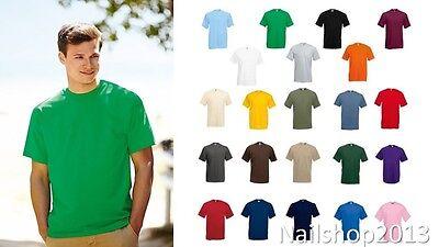 Maglietta Uomo Fruit Of The Loom T-Shirt Uomo Cotone Casual Personalizzabile 2