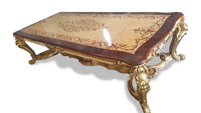 Gorgeous 10.9ft Grand Burr Walnut Marquetry dining table Pro French polished 11