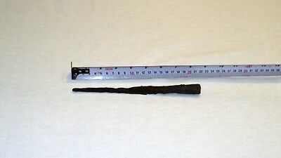 """UNIQUE ANCIENT LATE ROMAN/EARLY BYZANTINE IRON SPEAR POINT 216mm 8.5"""" 1-4 C. A.D 2"""