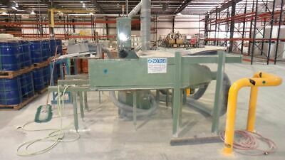 "ANDO TA500 21"" Commercial Band Saw with automated feed table 2"