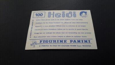 HEIDI 1978 Panini SCEGLI *** figurina con velina *** dal numero 1 al numero 200 5