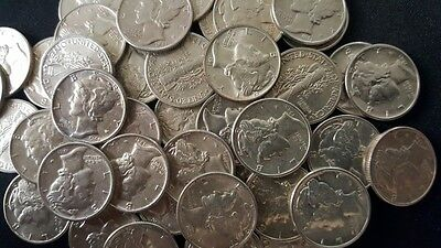 ✯ UNCIRCULATED 90% Silver Mercury Dimes ✯ Old U.S. Coins ✯ 1916-1945 ✯ 1 COIN ✯ 2