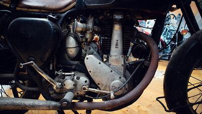 BSA B 33 / B33 Oldtimer Motorrad von 1955 Klassiker Rarität