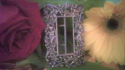 Antique Art Nouveau Gorham 925 Sterling Silver Cupid Belt Buckle Repoussé 1896 3