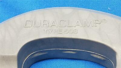 DURACLAMP–508 Fiberglass Filled Chemically Inert Anodizing / Plating C-Clamp 4