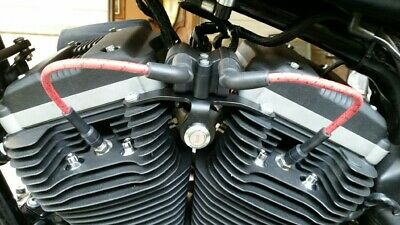 Harley Davidson Sportster 883 1200 Coil Key Relocation Bracket 2004 2005 2006