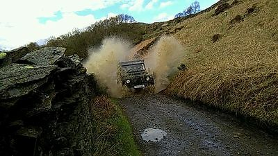 September 2019 Land Rover Driving Experience any Saturday. 7