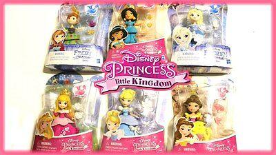 Disney Princess Little Kingdom Snap Ins Mulan Jasmine Snow Ariel Merida Elsa