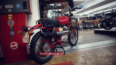 Moto Guzzi Stornello Scrambler Oldtimer Motorrad 1976 3