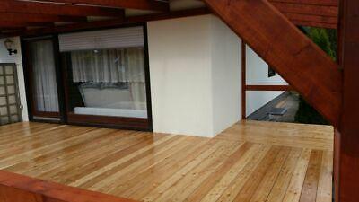 Terrassendielen sibirische Lärche Holzterrasse Komplettset Bausatz von 12 -100m² 5