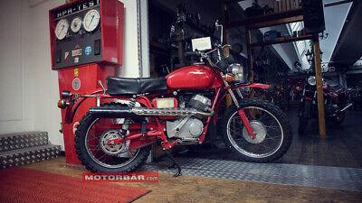 Moto Guzzi Stornello Scrambler Oldtimer Motorrad 1976 4