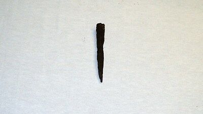 "ANTIQUE LATE ROMAN/EARLY BYZANTINE IRON SPEAR POINT 119 mm (4.7"") 1st-4th C. A.D 3"