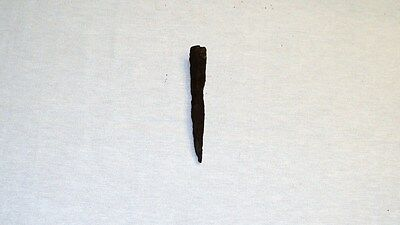 """UNIQUE ANCIENT LATE ROMAN/EARLY BYZANTINE IRON SPEAR POINT 119mm 4.7"""" 1-4 C. A.D 3"""