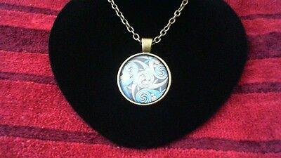 Celtic triskelion pendant charm chain link necklace new irish 2 of 4 celtic triskelion pendant charm chain link necklace new irish scottish welsh aloadofball Image collections
