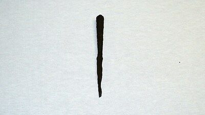 "UNIQUE ANCIENT LATE ROMAN/EARLY BYZANTINE IRON SPEAR POINT 175mm 6.9"" 1-4 C. A.D 2"