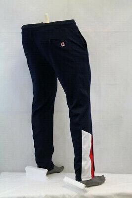 L FILA Jude Sweatpants Men/'s Joggers LM173F28-350 Green Dark White Red sz M