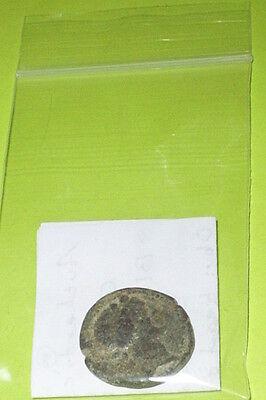 BLAUNDUS LYDIA Authentic Ancient GREEK COIN thyrsus tool Dionysus sceptre RARE G