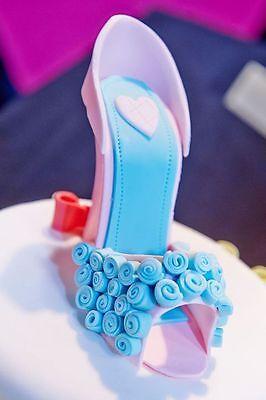 High Heel Shoe Silicone Push Mold A61 Cake Topper Fondant Gumpaste Chocolate