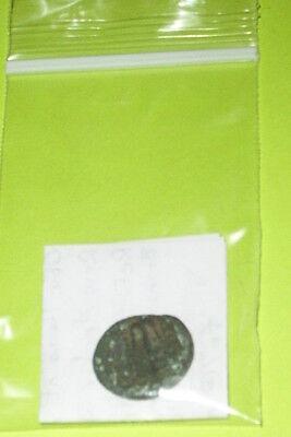 ANTIOCHOS I 281 BC-261 BC GREEK COIN anchor Seleukid King rare GREEN PATINA good