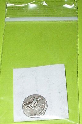 Ancient ROMAN SILVER COIN hercules SEPTIMIUS SEVERUS 193 AD-211 AD bow club lion 4