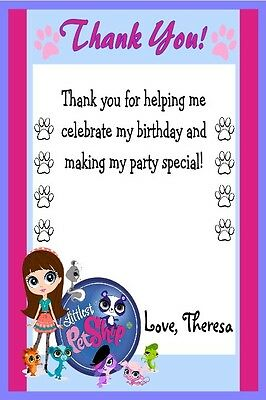 Littlest Pet Custom Printable Birthday Party Invitation