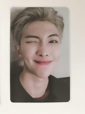 BTS RM Photocard WORLD TOUR LOVE YOURSELF NEW YORK EUROPE DVD Official Set FC MD 2
