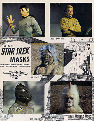 Leonard Nimoy Life Mask from 1975 Don Post Studios Spock Mask not Kirk 75 Myers 4