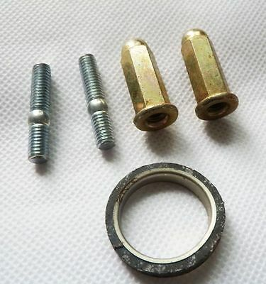 GY6 EXHAUST STUDS WITH NUTS AND GASKET FOR SCOOTERS WITH 50cc & 150cc MOTORS 2
