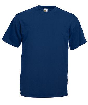 Kids Plain T-Shirt Boys Girls TShirt Age 1 2 3 4 5 6 7 8 9 10 11 12 13 14 15 6